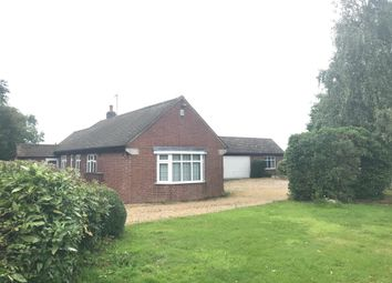 Thumbnail 3 bed bungalow to rent in Desford Road, Thurlaston, Leicester