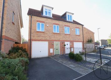 Thumbnail 3 bed semi-detached house for sale in Hawkshead Place, Newton Aycliffe