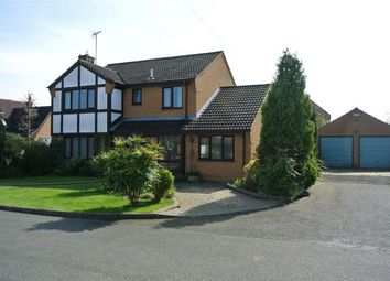 Thumbnail 4 bed detached house for sale in Park View, Thurlby, Bourne, Lincolnshire