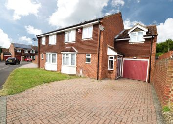 Thumbnail 4 bed semi-detached house for sale in Glendale, Swanley, Kent