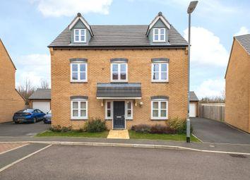 Thumbnail 5 bed detached house for sale in Kempton Drive, Barleythorpe, Oakham