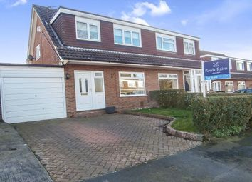 Thumbnail 3 bed semi-detached house for sale in Hendham Close, Hazel Grove, Stockport