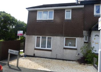 Thumbnail 1 bed end terrace house for sale in Camborne Close, Plymouth