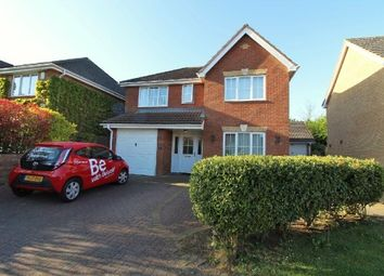 Thumbnail 4 bed detached house for sale in Lotus Close, West, Ipswich