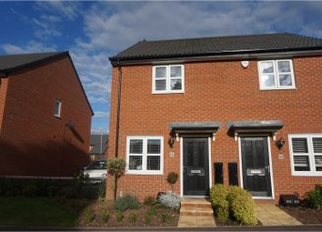 Thumbnail 2 bedroom semi-detached house for sale in Hunter Road, Whetstone