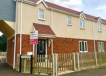 Thumbnail 3 bedroom semi-detached house to rent in Queens Road, Attleborough
