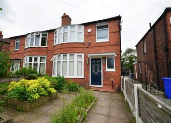 Thumbnail 3 bedroom semi-detached house to rent in Ashdene Road, Withington, Manchester