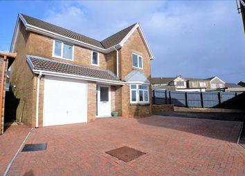 Thumbnail 4 bed detached house for sale in Parklands Rise, Tonyrefail, Porth