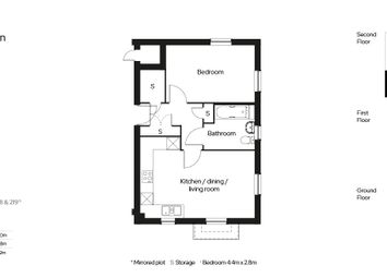 Thumbnail 1 bed flat for sale in Hayne Lane, Honiton