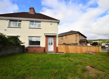 Thumbnail 2 bed semi-detached house for sale in Glyn-Dwr Avenue, Rhydyfelin, Pontypridd