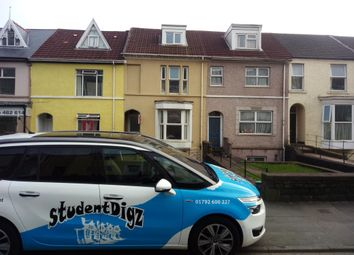 Thumbnail 3 bed property to rent in King Edwards Road, Brynmill, Swansea