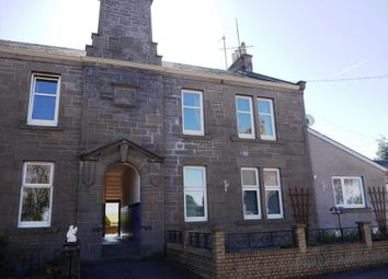Thumbnail 2 bed flat for sale in 3 Strathmore Place, Meigle, Blairgowrie