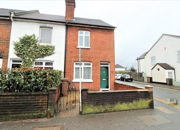 Thumbnail 2 bedroom end terrace house for sale in Cheam Common Road, Worcester Park, Surrey.