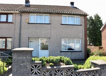 Thumbnail 3 bed end terrace house for sale in Laburnum Close, Gurnos, Merthyr Tydfil