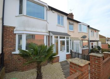 Thumbnail 3 bedroom terraced house for sale in Dawson Road, Folkestone