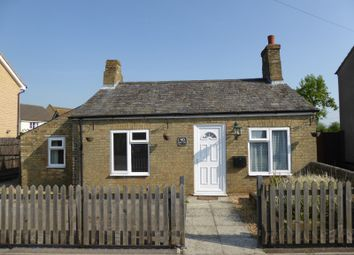 Thumbnail 2 bed cottage to rent in West End, Haddenham, Ely