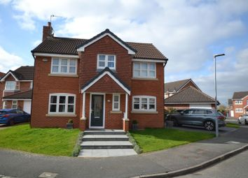 Thumbnail 4 bed detached house for sale in Mossdale Close, Whittle Hall, Warrington