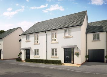 "Thumbnail 4 bed semi-detached house for sale in ""The Tulip"" at Swallow Field, Roundswell, Barnstaple"