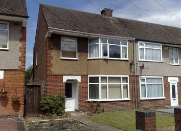 Thumbnail 3 bedroom end terrace house to rent in 3 Bedroom, Part-Furnished, End Terraced House, Keats Road, Coventry.