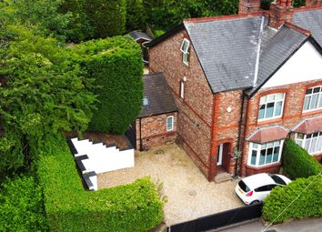 Thumbnail 4 bed semi-detached house for sale in Manchester Road, Wilmslow