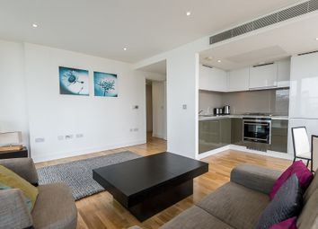 Thumbnail 2 bed flat for sale in Landmark West Tower, Marsh Wall, Canary Wharf