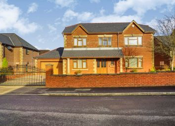 Thumbnail 4 bed detached house for sale in Nant Celyn, Neath