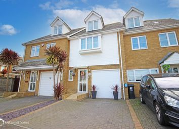 Thumbnail 3 bed town house for sale in Kingfisher Close, Garlinge, Margate