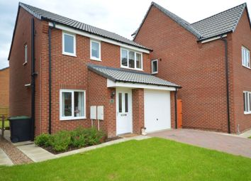 Thumbnail 3 bed detached house for sale in Ferrous Way, North Hykeham, Lincoln