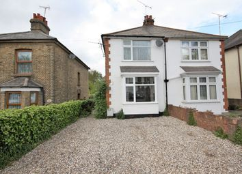 Thumbnail 2 bed semi-detached house to rent in Crescent Road, Warley, Brentwood
