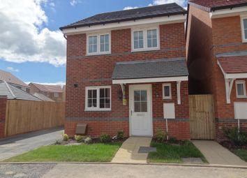 Thumbnail 3 bed detached house to rent in Wrekin Dove Close, Bowbrook, Shrewsbury