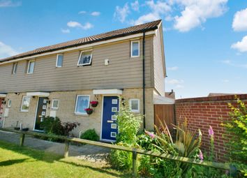 Thumbnail 2 bed end terrace house for sale in Kestrel Avenue, Costessey, Norwich