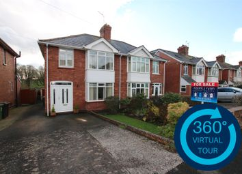 Thumbnail 4 bed semi-detached house for sale in Chard Road, Heavitree, Exeter