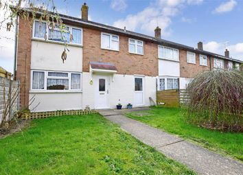 Thumbnail 3 bed end terrace house for sale in Barnett Field, Ashford, Kent