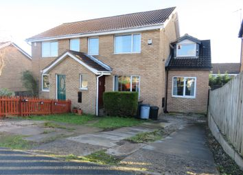 Thumbnail 4 bed semi-detached house for sale in Burnby Close, Harrogate