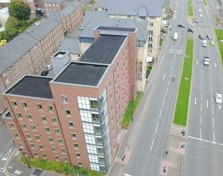 Thumbnail 2 bed flat for sale in Metro Apartments, Cross Bedford Street, Sheffield