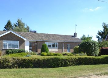 Thumbnail 3 bed detached bungalow to rent in Mill Lane, Thurston, Bury St. Edmunds