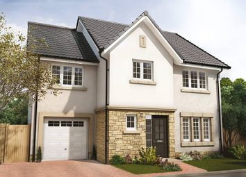 "Thumbnail 4 bed semi-detached house for sale in ""The Bryce"" at Hillview Gardens, Nivensknowe Park, Loanhead"