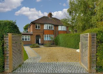 Thumbnail 3 bed semi-detached house for sale in Dunstall Way, West Molesey