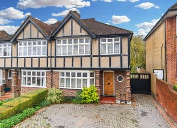 Thumbnail 4 bed semi-detached house for sale in Princes Avenue, Woodford Green