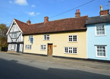 Thumbnail 3 bed terraced house for sale in Clare, Sudbury, Suffolk