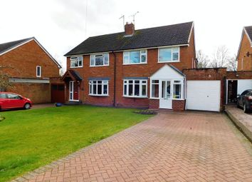 Thumbnail 3 bed semi-detached house for sale in Barn Bank Lane, Moss Pitt, Stafford