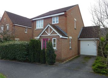 Thumbnail 3 bed detached house to rent in Browning Road, Church Crookham, Fleet