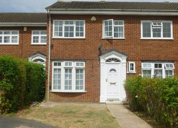 Thumbnail 3 bed terraced house to rent in Willows Close, Pinner