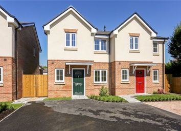 Thumbnail 3 bed semi-detached house for sale in Plot 3, St Annes Mews, Bridgeman Drive, Windsor