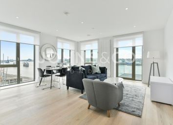 Thumbnail 3 bed flat to rent in Laker House, Royal Wharf