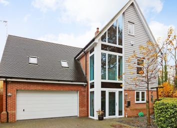 Thumbnail 5 bed detached house for sale in Campion Close, Ashford