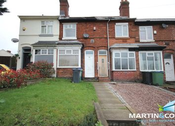 Thumbnail 2 bed terraced house to rent in Hagley Road West, Smethwick