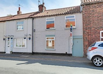 Thumbnail 2 bed terraced house for sale in High Street, Aldbrough, Hull