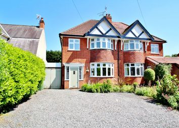 Thumbnail 3 bed semi-detached house for sale in Gynsill Lane, Anstey, Leicestershire