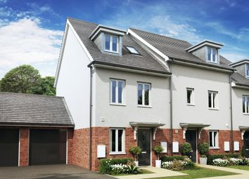 "Thumbnail 4 bed semi-detached house for sale in ""Rochester"" at Godwell Lane, Ivybridge"